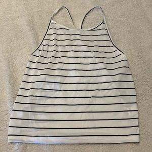 Tops - Stripped Halter Top